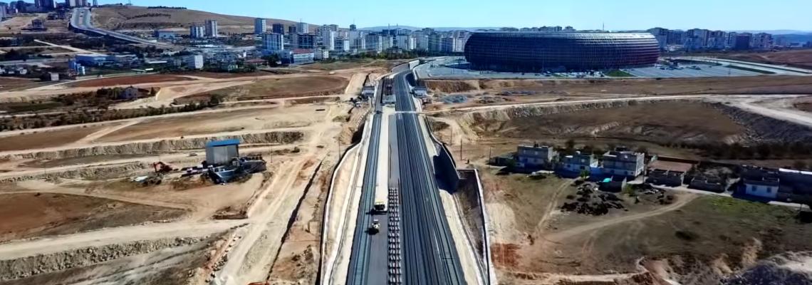 ASTOR GAZİRAY TREN HATTI - TCDD - GAZİANTEP