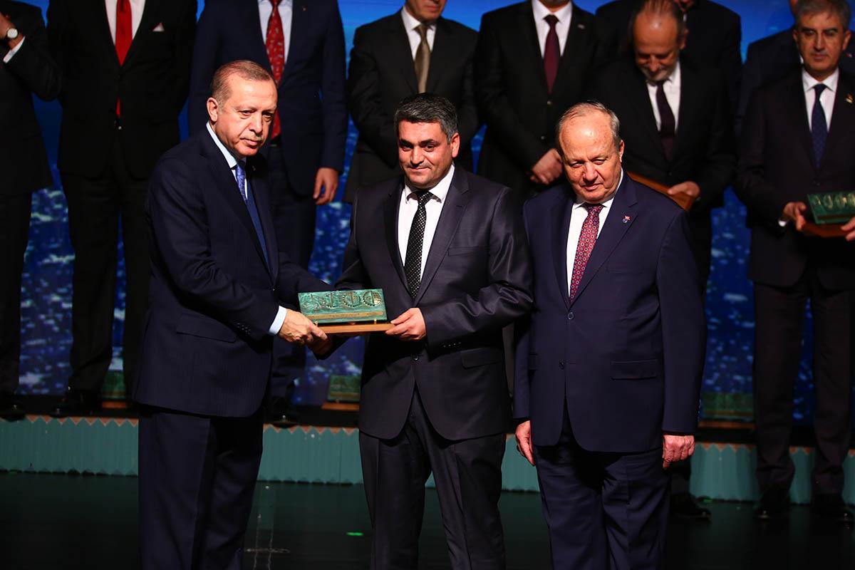 """ASTOR """"2017 yılı Ar-Ge Merkezi"""" Ödülü"""